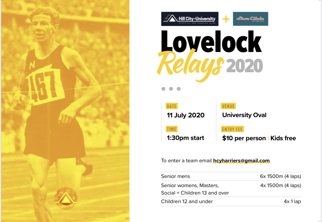 Lovelock Relay 11th July2020